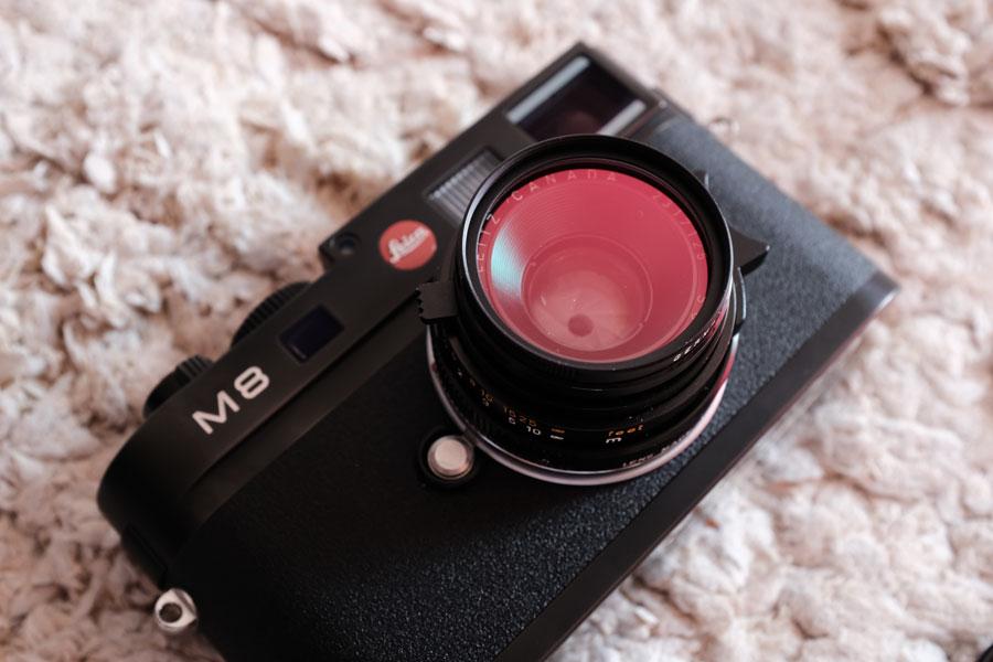 Leica M8 + Summicron M35mm F2(6枚玉) + UV/IRフィルターE39