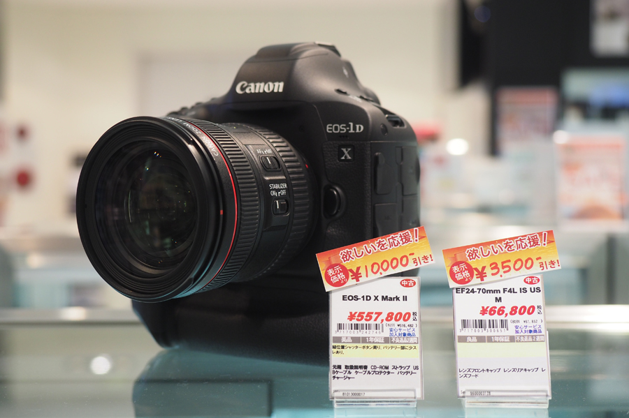 Canon EOS-1DX Mark II + EF24-70mm F4L IS USM