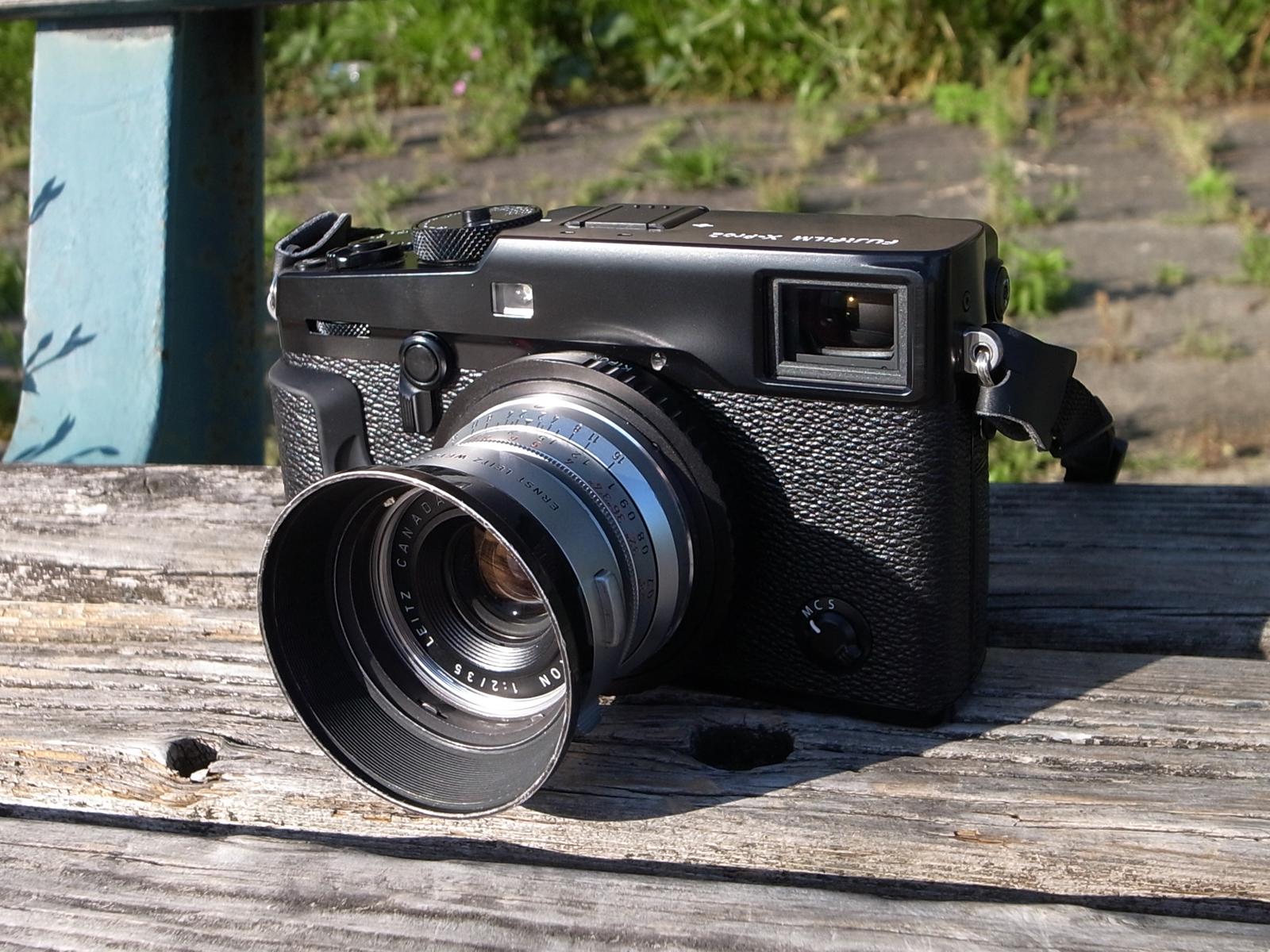 FUJIFILM X-Pro2 + Leica ズミクロン M35mm F2 (8枚玉)
