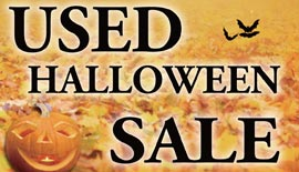 USED HALLOWEEN SALE開催中!!