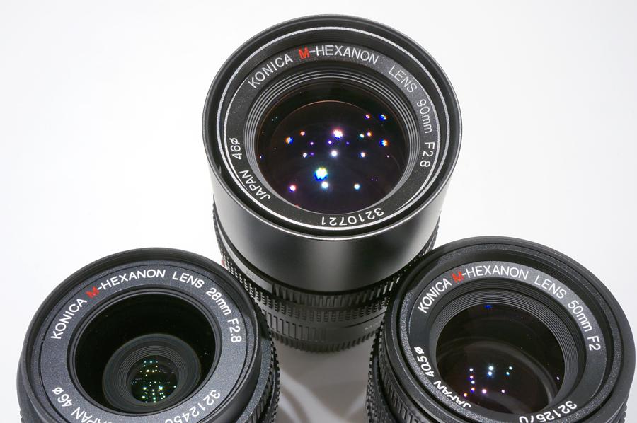 Konica (コニカ) M-Hexanon Lens