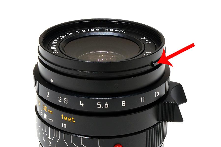 Leica (ライカ) レンズ・フード M 28 ASPH. f2/ f2.8