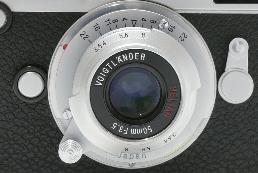 Voigtlander HELIAR 50mm F3.5 (L)