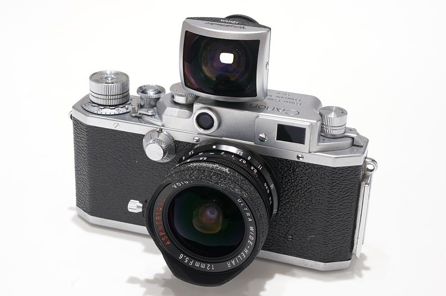 Canon (キヤノン) IVSb (後期) + Voigtlander (フォクトレンダー) ULTRA WIDE-HELIAR 12mm F5.6 Aspherical ブラック