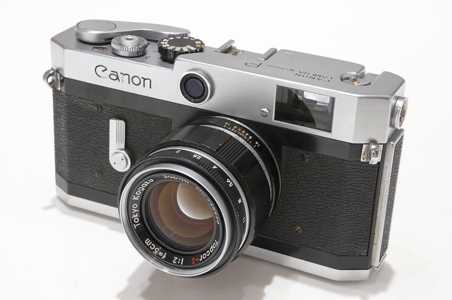 Canon (キヤノン) P + TOPCON (トプコン) Topcor-S (L) 50mm F2