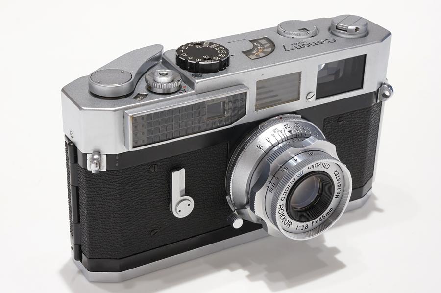 Canon (キヤノン) 7 + MINOLTA (ミノルタ) SUPER ROKKOR (L) 45mm F2.8