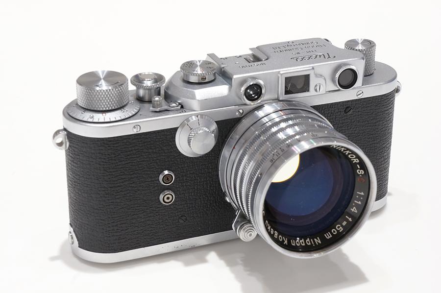 NICCA (ニッカ) Nicca IIIS  + Nikon (ニコン) NIKKOR-S.C (L) 50mm F1.4