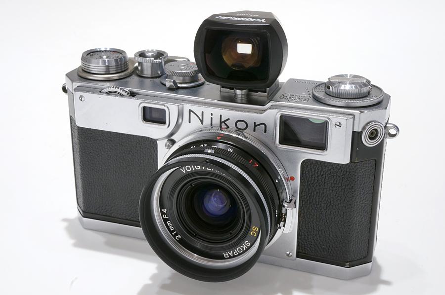 Nikon (ニコン) S2 + Voigtlander SC-SKOPAR 21mm F4
