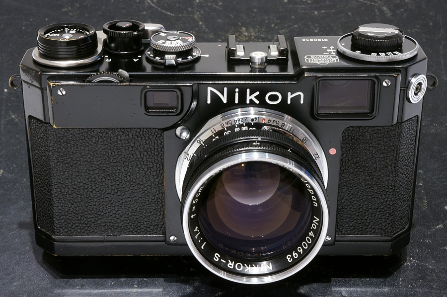 Nikon (ニコン) S2 ブラックペイント (オリジナル)+ NIKKOR-S (S) 50mm F1.4