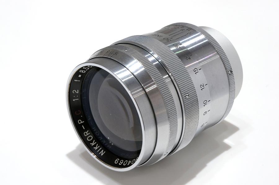 Nikon (ニコン) NIKKOR-P.C (L) 85mm F2 シルバー