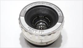 【etc】フランス製レンズ Som Berthiot Angulor 28mm F3.3 (L)