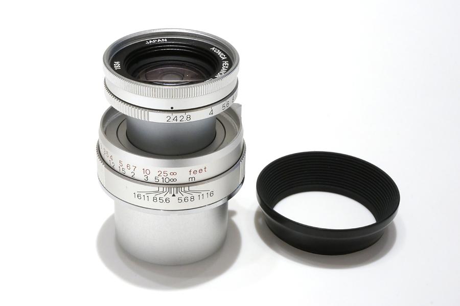 Konica (コニカ) HEXANON (L) 50mm F2.4