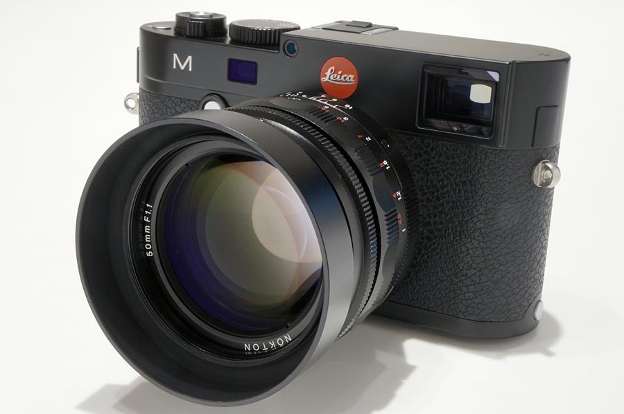 Leica M(Typ240) ブラックペイント + Voigtlander NOKTON 50mm F1.1 VM(ライカM用)