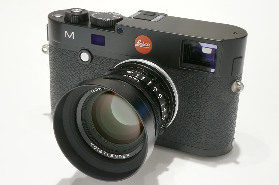 Leica M(Typ240) ブラックペイント + Voigtlander NOKTON 50mm F1.5 Vintage Line Aspherical VM ブラック