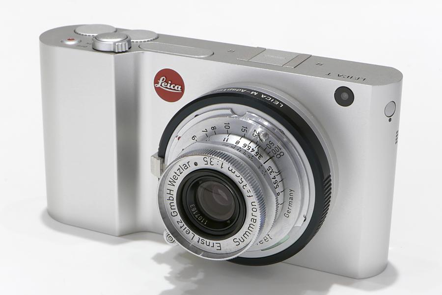 Leica T(Typ701) + Mレンズアダプター + ズマロン L35mm F3.5
