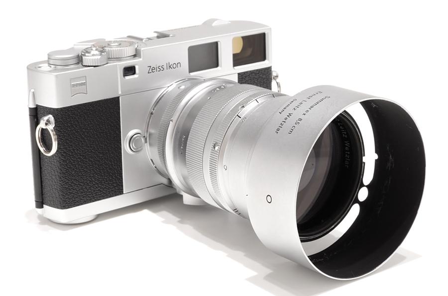 Carl Zeiss (カールツァイス) ZEISS IKON ZMボディ シルバー + Leica ズマレックス L85mm F1.5 クローム