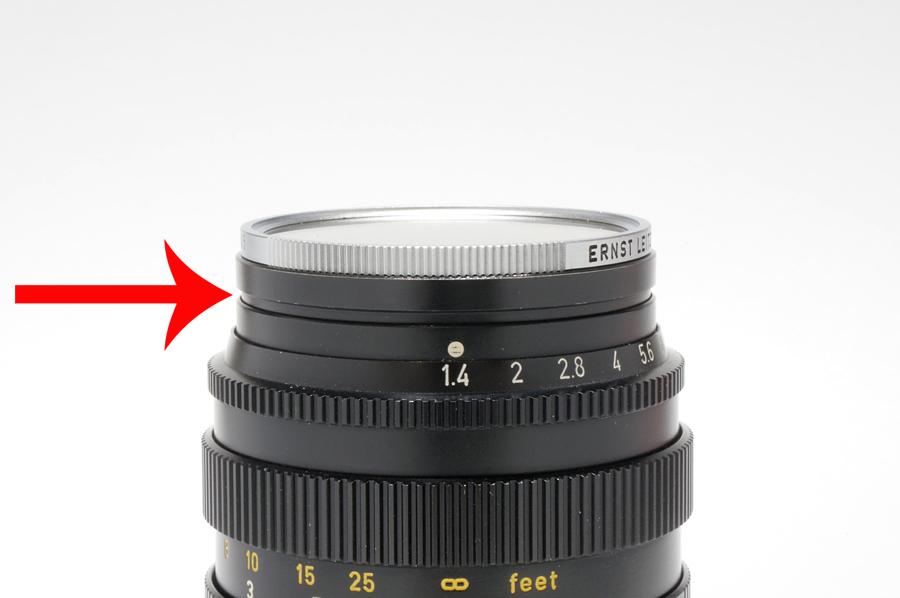 Leica (ライカ) フィルター E43 UVa シルバー
