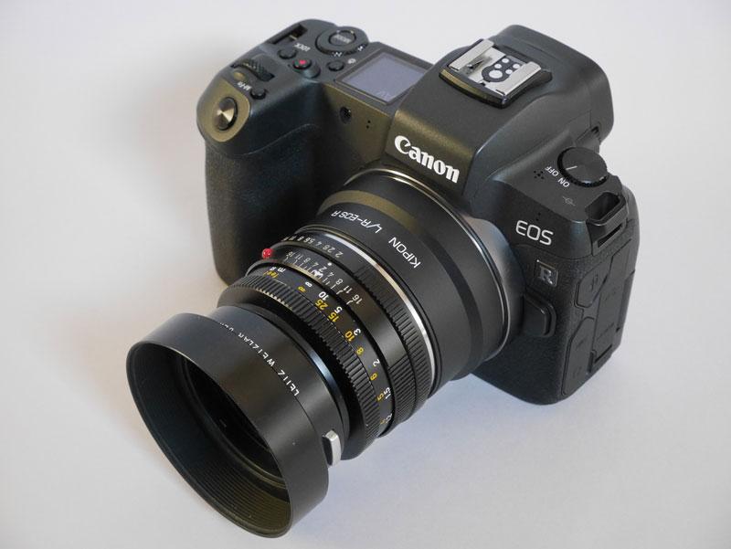 Canon EOS R + Leica SUMMICRON R 50mm F2 3カム