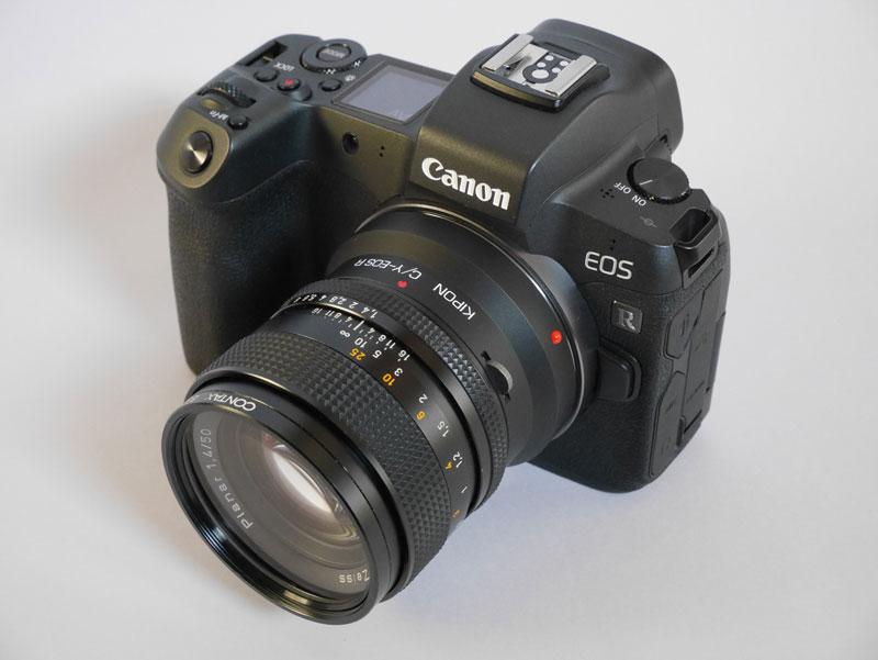 Canon EOS R + CONTAX Planar T* 50mm F1.4 AE
