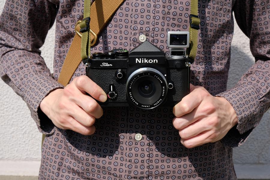 Nikon F2 Titan+Nikkor 21mm F4