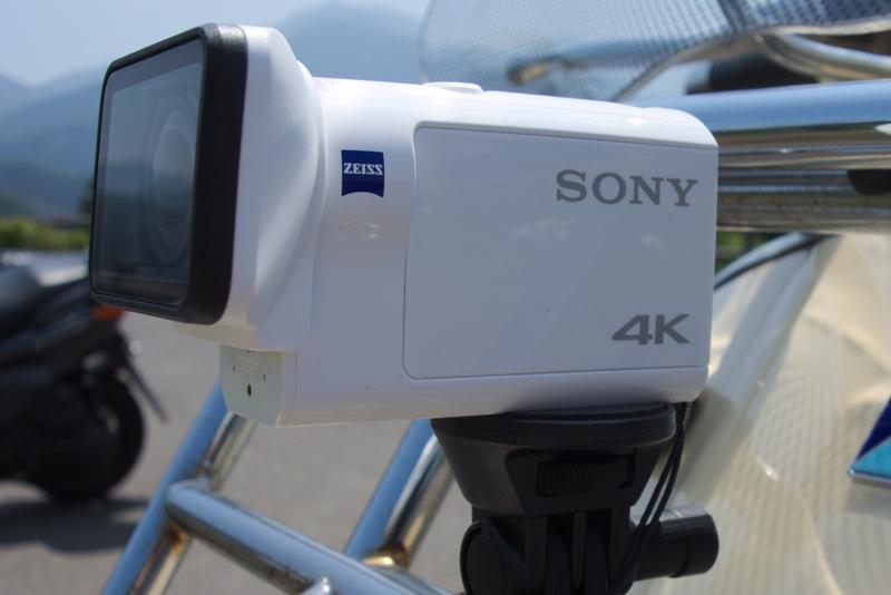 【SONY】アクションカムでGO! FDR-X3000R編