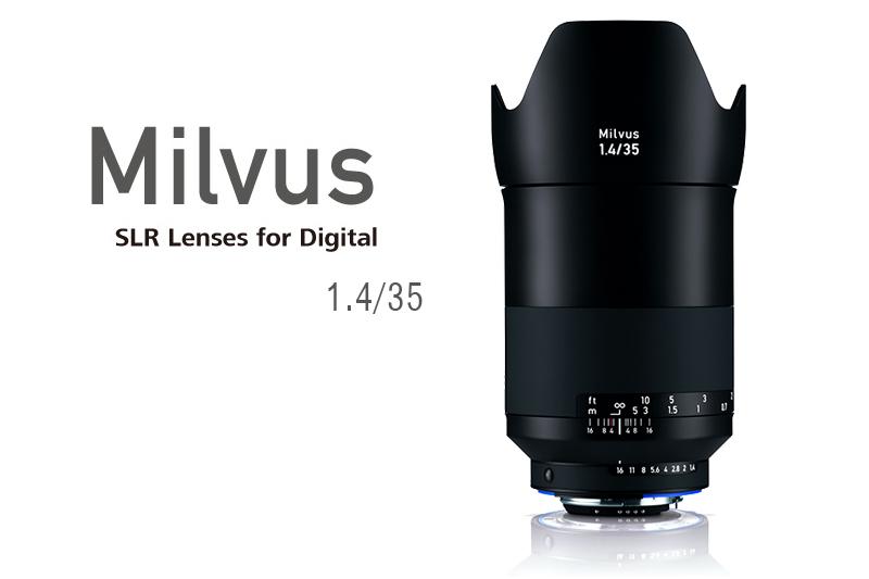 Carl Zeiss (カールツァイス) Milvus 35mm F1.4