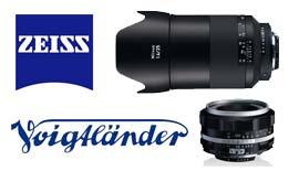 【ZEISS & Voigtlander】Milvus 1.4/35と ULTRON40mm F2 ご予約受付中