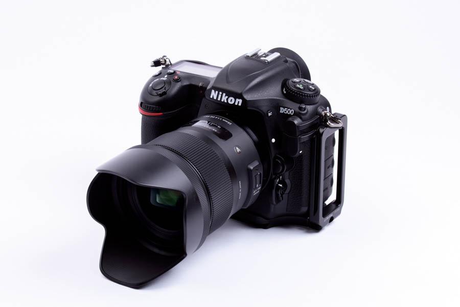 Nikon D500 +Markins(マーキンス) PN-500 ニコン D500 用 カメラプレート