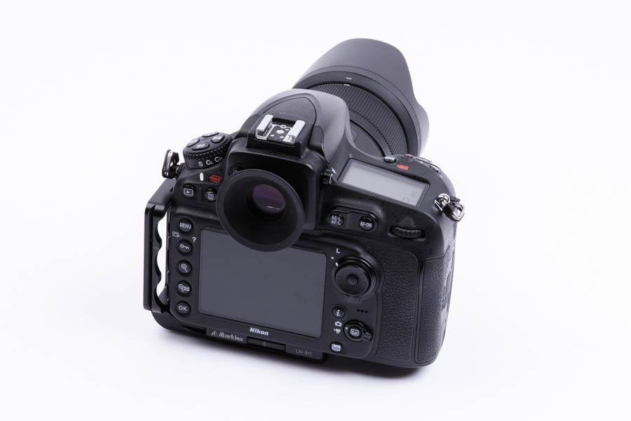 Nikon D810 + Markins(マーキンス) LN-810 ニコン D810 用 L-プレート