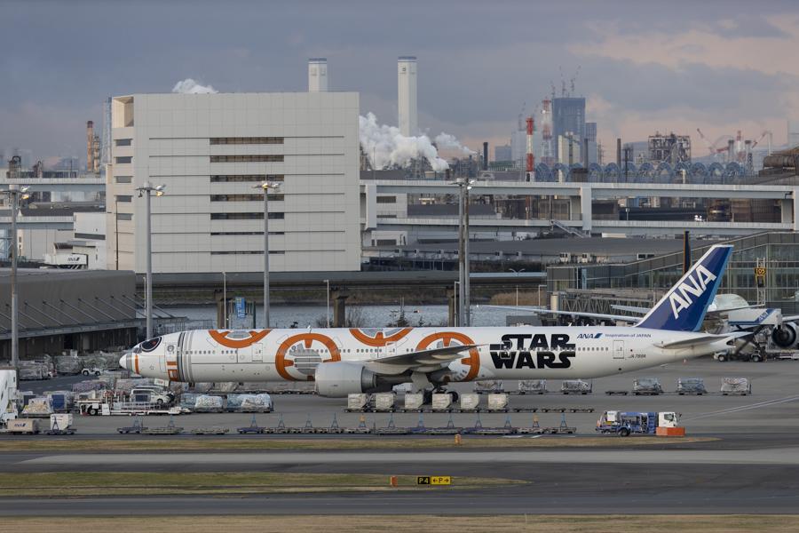 羽田空港第一旅客ターミナルより