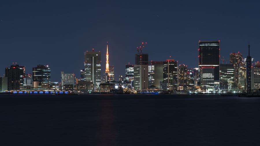 東京都江東区にて