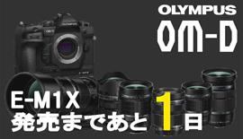 【OLYMPUS】OM-D E-M1X発売まであと1日!17mm F1.2 PRO