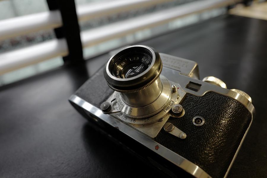 アルミ鏡胴と低速切替レバー