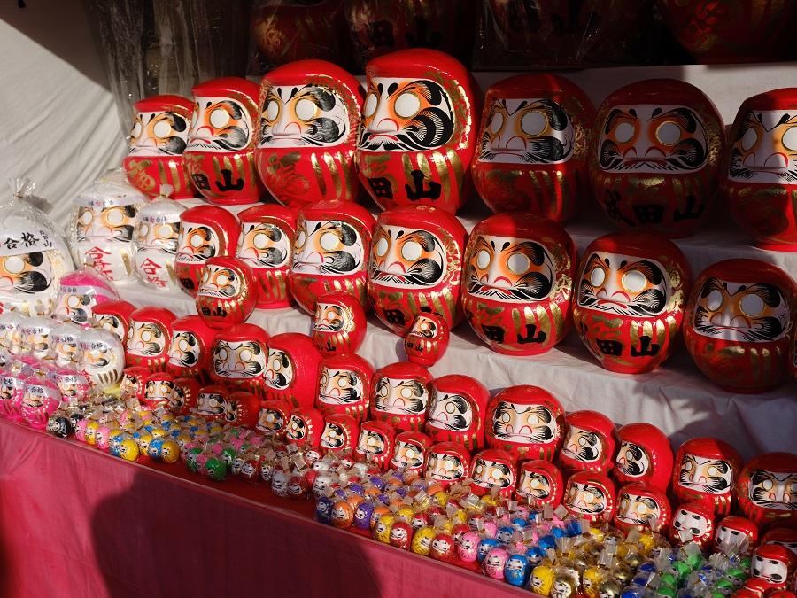 【街で見つけた形にフォーカス】成田山の初詣 【SONY】