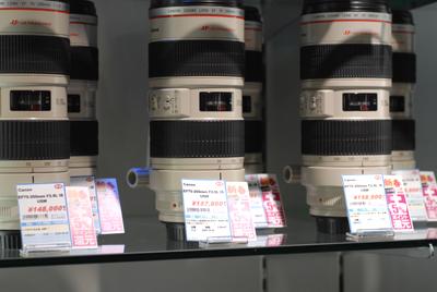 1号店4階 Canon L Lens