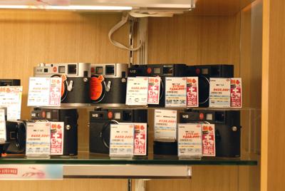 1号店B1階 Leica M6