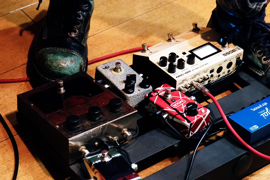 楽器を撮る。