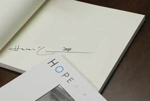 ハービー・山口氏のサイン