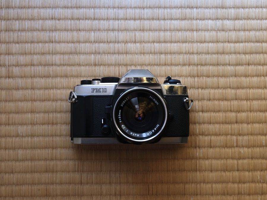 Nikon FM10 + Nikkor-S Auto 35mm F2.8
