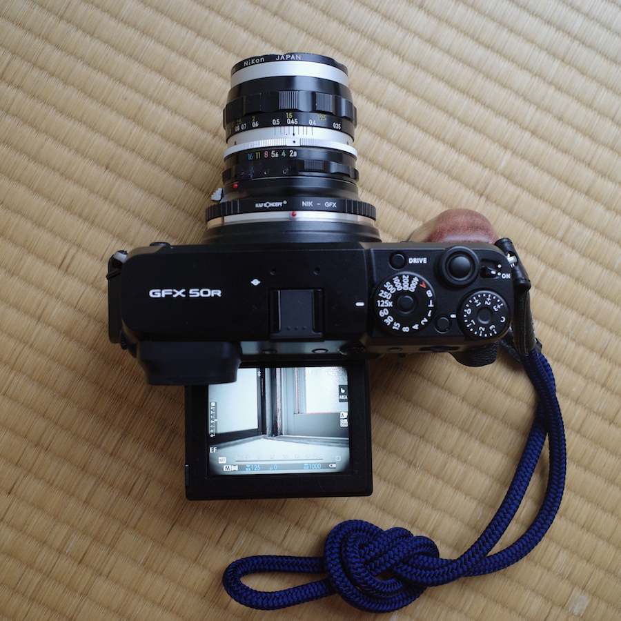 GFX50R + Nikkor-S Auto 35mm F2.8