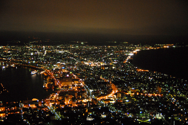 100万ドルの函館山夜景