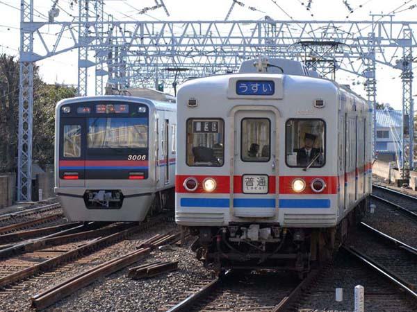 高砂駅にて現在の3200系