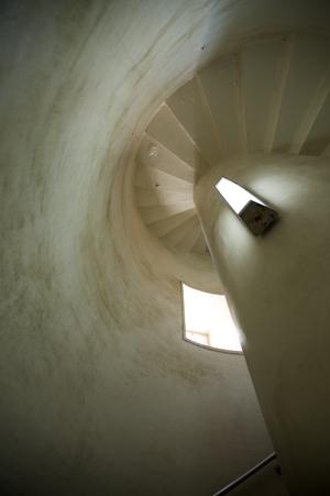 灯台内部の階段
