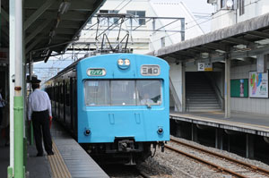 京浜東北線色の1000系