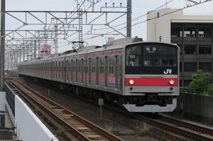 京葉線205系(転属車)