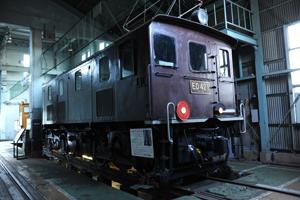 ED42アプト式電気機関車
