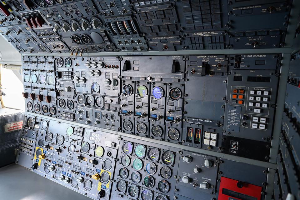 航空機関士席