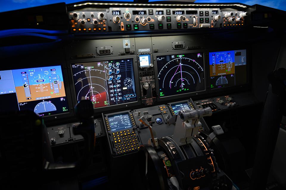 737シミュレーター
