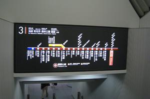 副都心線路線図