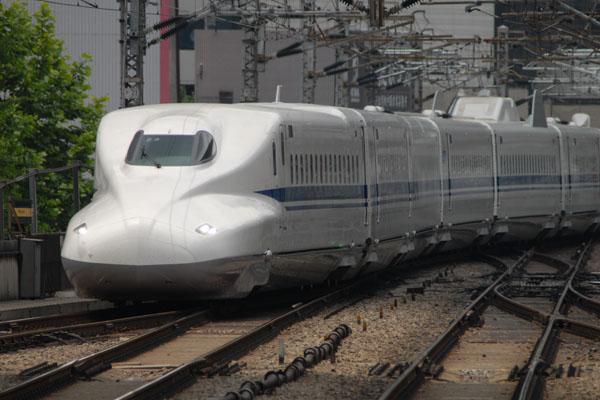 新型新幹線N700系Z3編成(東京駅にて)